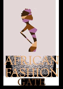 logo african fashion gate trasparente