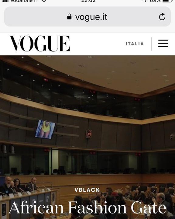#vogueitalia #africanfashiongate #parlamentoeuropeo #bruxelles #premiolamodavestelapace #lamodavestelapace #congressomondialedelledonnedellamodaedeldesign #nicolapaparusso #lescygnesnoirsethicalagency #marietoudioneilcignonero #ethicalfashion #noblacknofashion